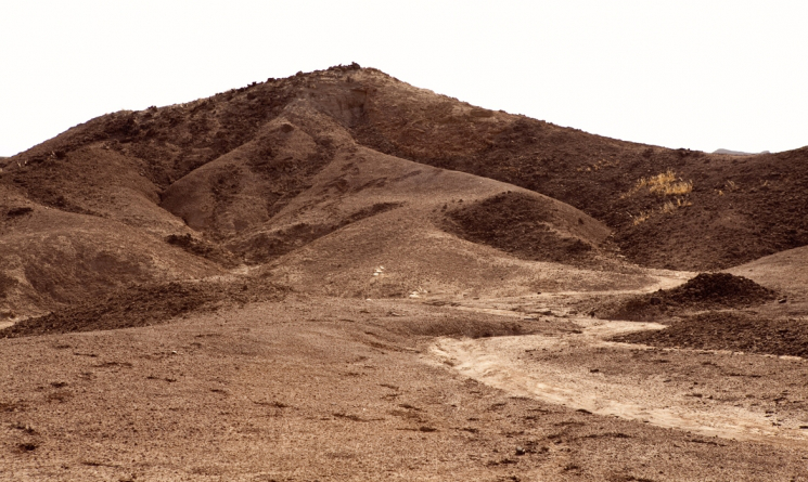 Landscape in 哈达尔,埃塞俄比亚 dig site